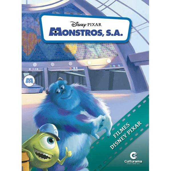 Livro de História Montros S.A.: Pixar -  (Médio)