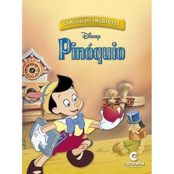 Livro de História Pinóquio: Clássicos Disney - (Médio)