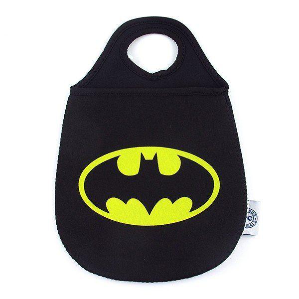 Lixeira de Carro Batman Logo DC Comics Preto - Urban