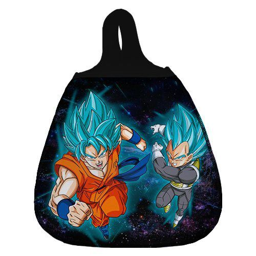 Lixeira de Carro Goku e Vegeta (Super Saiyajin Blue): Dragon Ball Super
