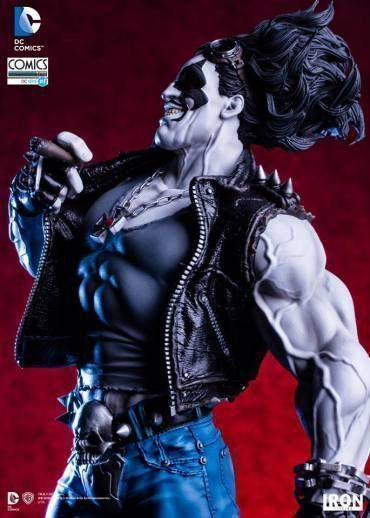 Lobo DC Comics Série 1 By Ivan Reis Art Scale 1/10 - Iron Studios
