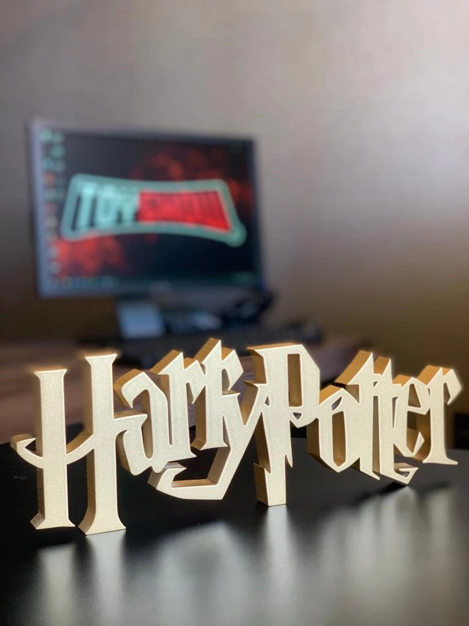 Logo 3D Decorativo
