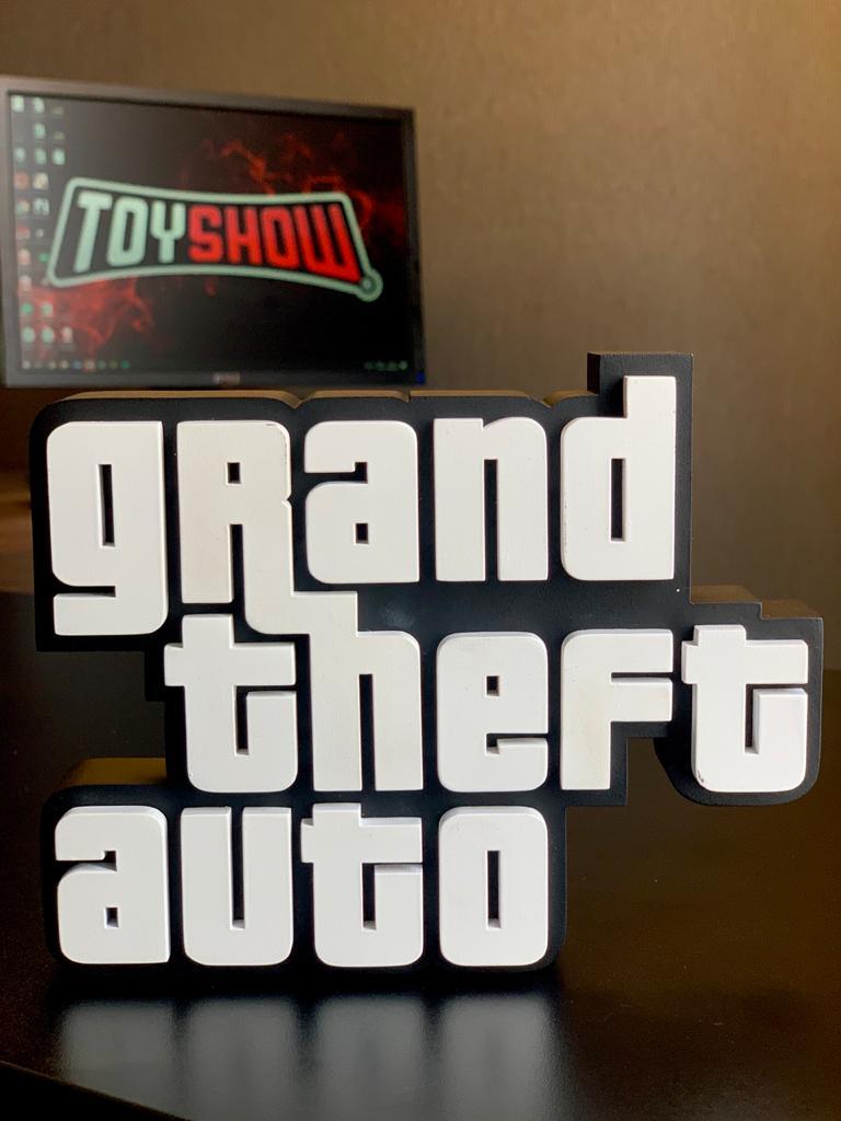 Logo 3D: Grand Theft Auto (GTA)