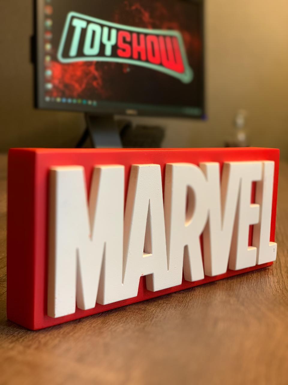 Logo 3D: Marvel