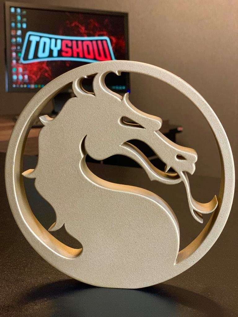 Logo 3D: Mortal Kombat 11