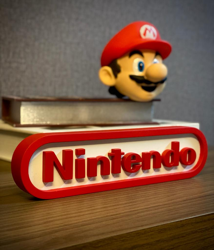 Logo 3D Nintendo