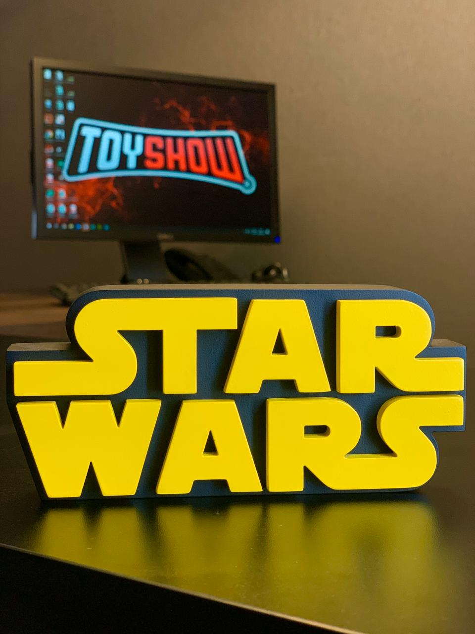 Logo 3D: Star Wars