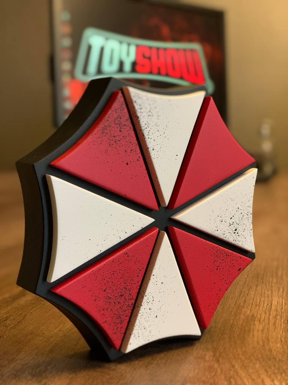 Logo 3D: Umbrella Corporation Resident Evil - EV