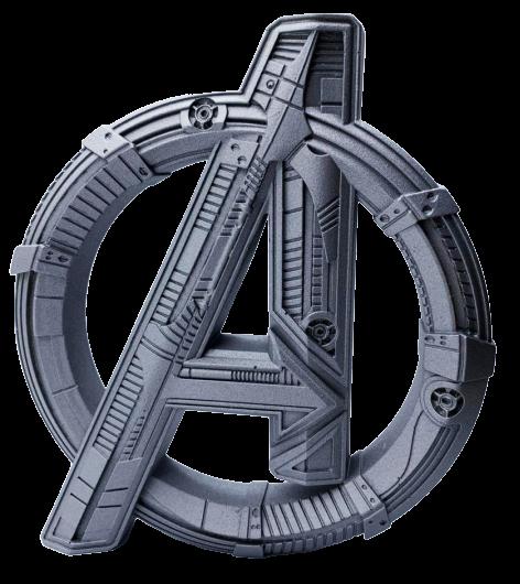 Logo 3D: Vingadores Era de Ultron (Avengers: Age of Ultron)