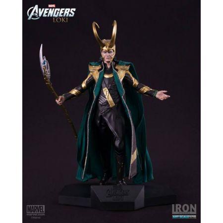 Loki Avengers Art Scale 1/10 - Iron Studios
