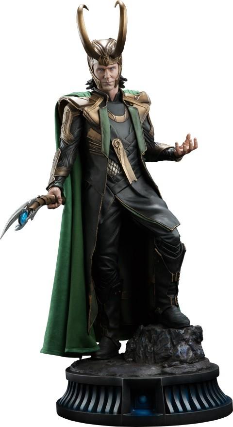 Estátua Loki Premium Format Escala 1/4 - Sideshow