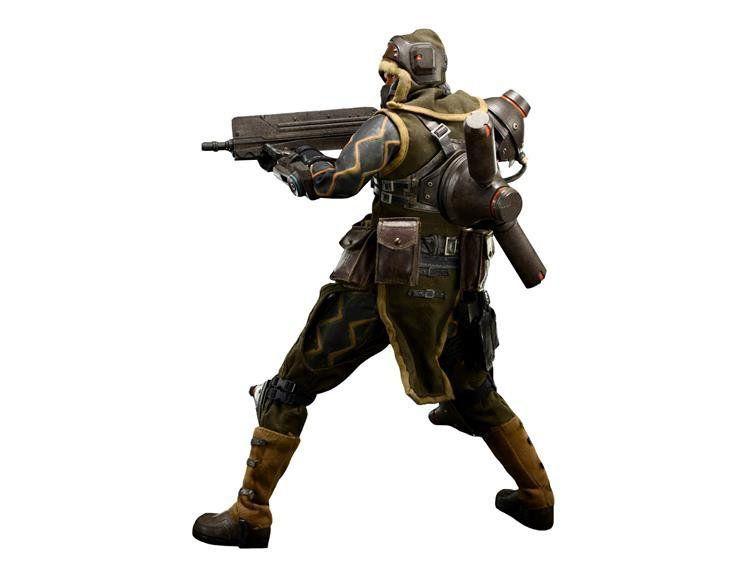Boneco Mercenary: Lost Planet 2 Escala 1/6 - ThreeA - CD