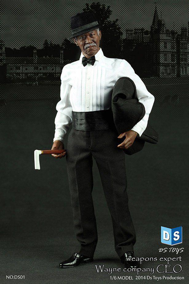 Boneco Lucius Fox: Batman Begins (Escala 1/6) - DS Toys