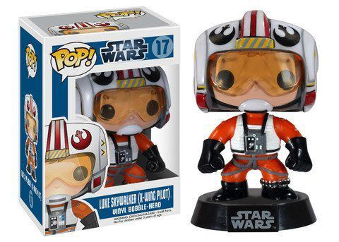Funko Pop Luke Skywalker (X-Wing Pilot): Star Wars #17 - Funko