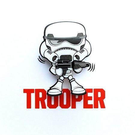 Luminária 3D Mini Stormtropper: Star Wars (Light FX)