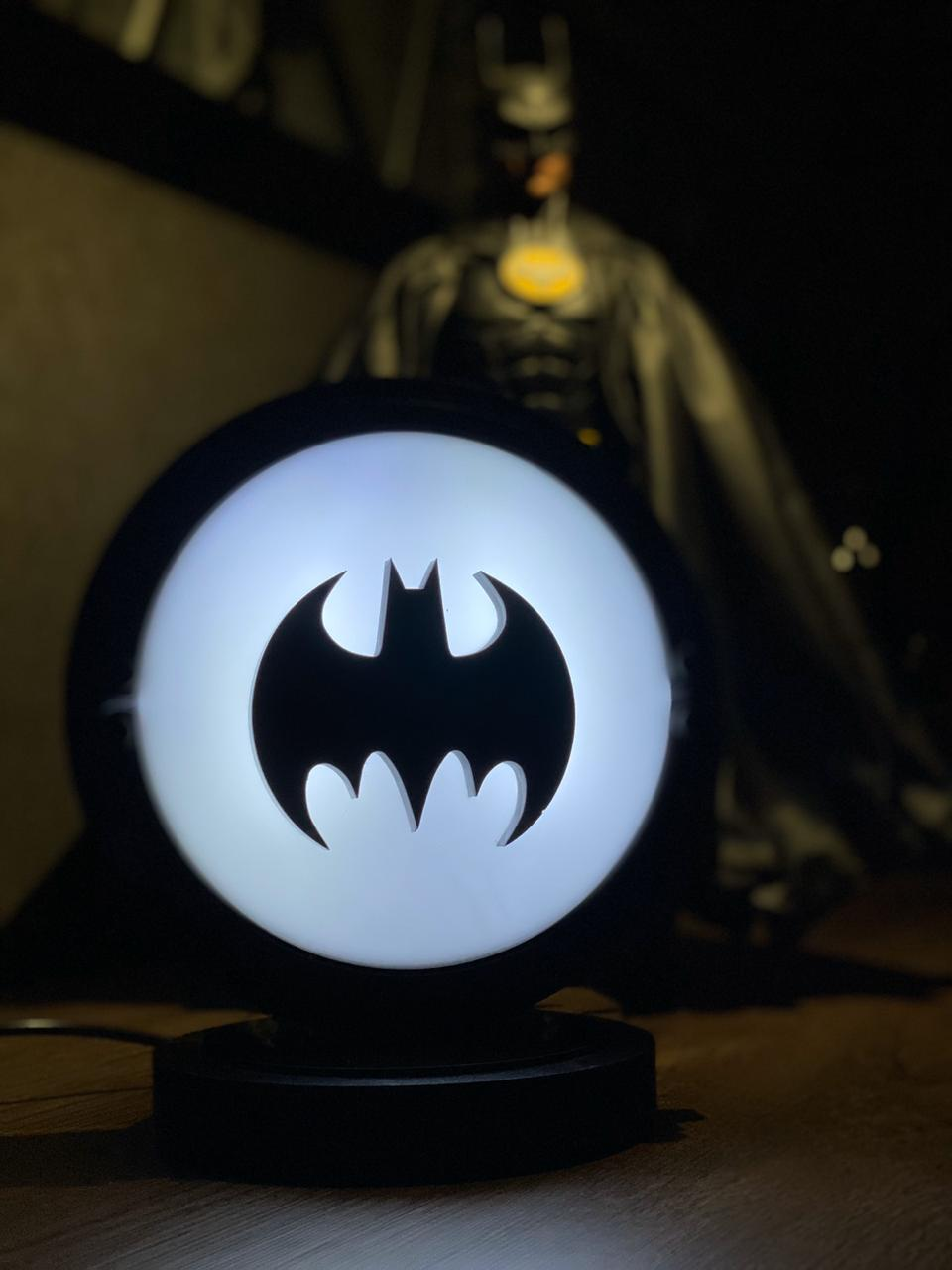 Luminária/Abajur Batman (Batsinal)