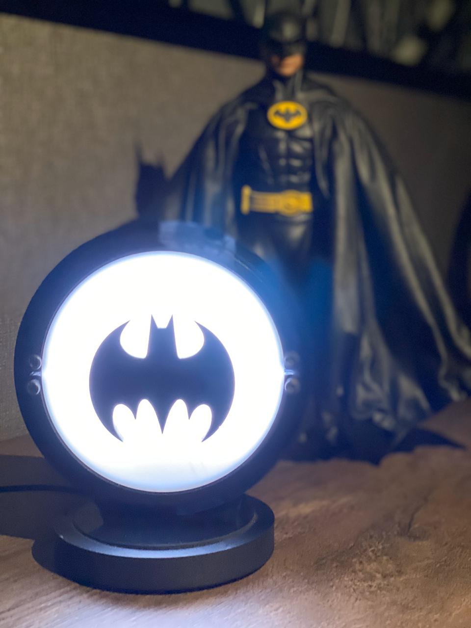 Luminária/Abajur Batman (Batsinal) - EV