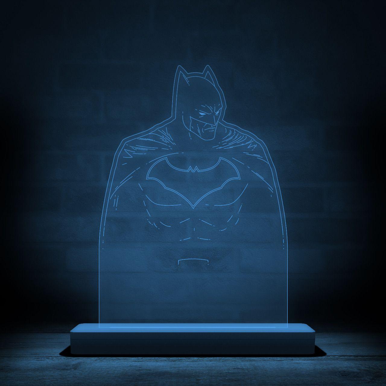 Luminária/Abajur Batman: DC Comics