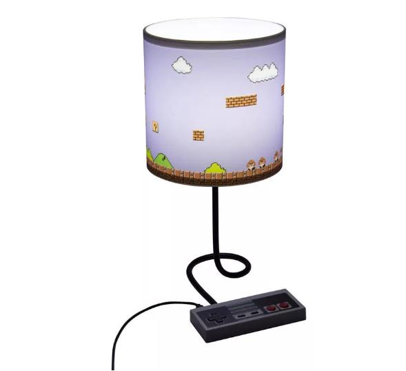 Luminária Abajur Controle Nintendo: Super Mario Bros - Paladone (Apenas Venda Online)