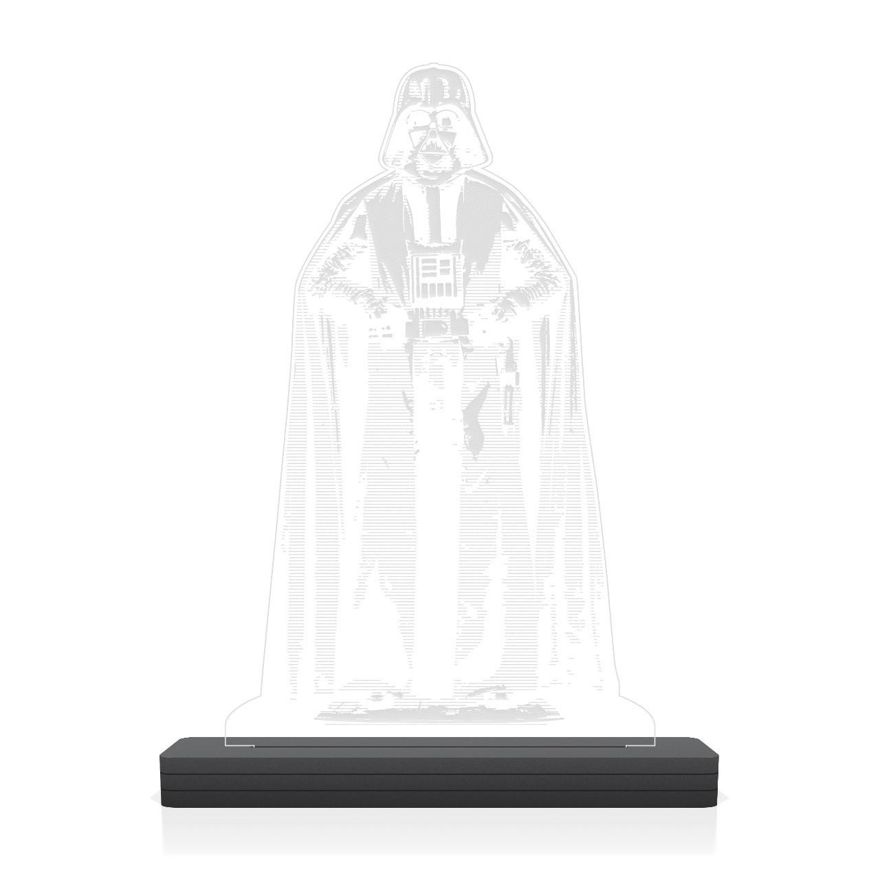 """Luminária/Abajur """"Darth Vader'': Star Wars - EV"""