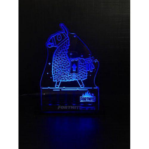Luminária/Abajur Fortnite: Lhama - EV