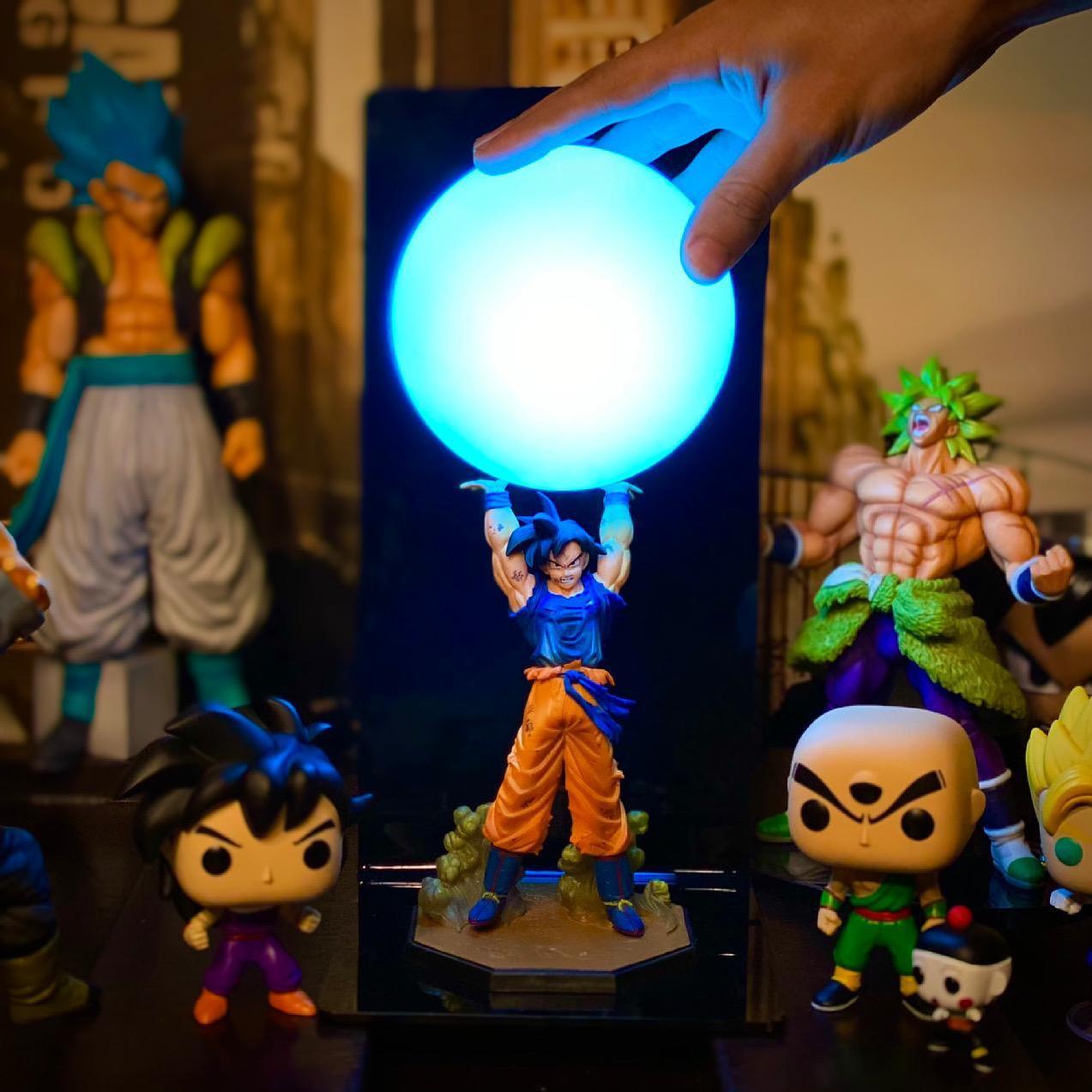 Luminária/Abajur Goku (Genki Dama): Dragon Ball Z