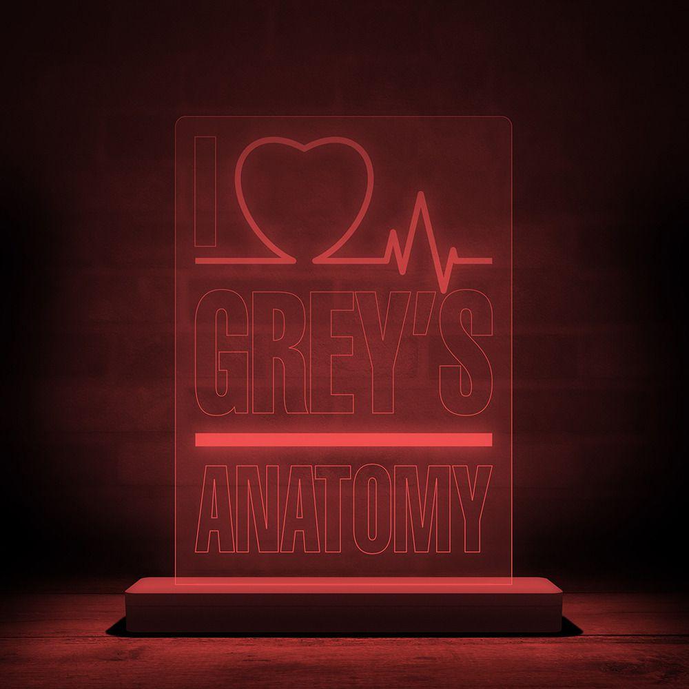 Luminária/Abajur Grey's Anatomy - EV