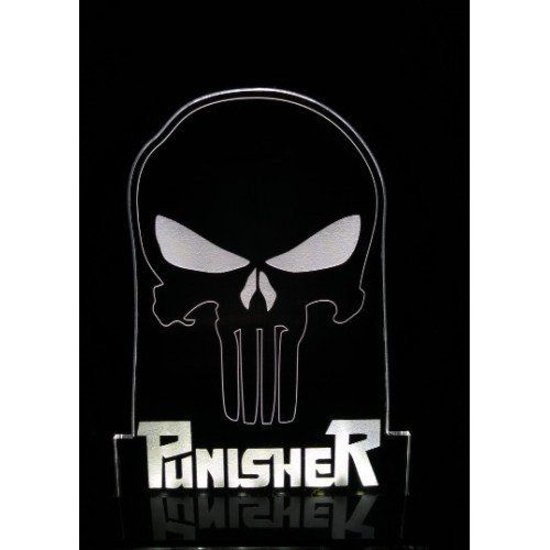 Luminária/Abajur Justiceiro (Punisher) - EV