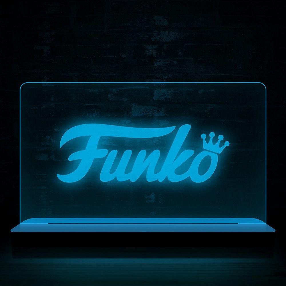 Funko Luminária/Abajur Logo Funko