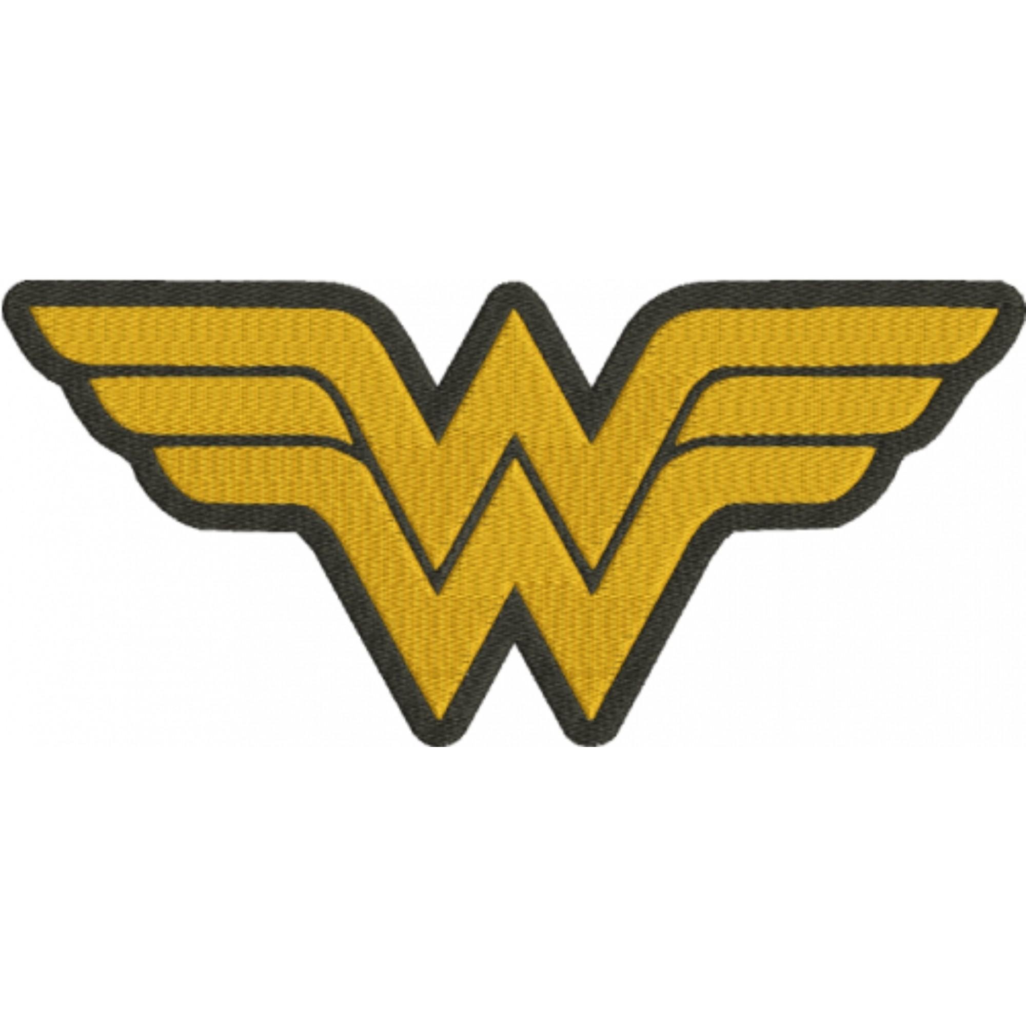 Luminária/Abajur: Logo Mulher Maravilha (Wonder Woman)