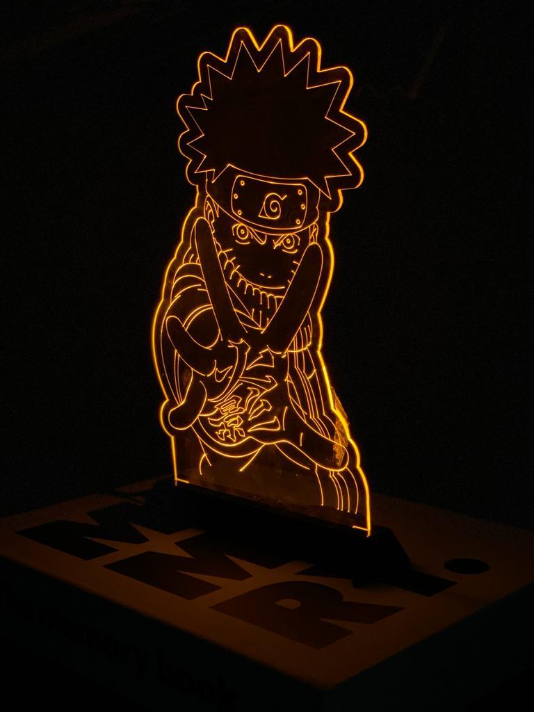 Luminária/Abajur Naruto