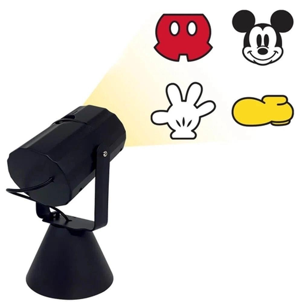 Luminária/Abajur Projetor Mickey Mouse: Mickey e Minnie Mouse Disney