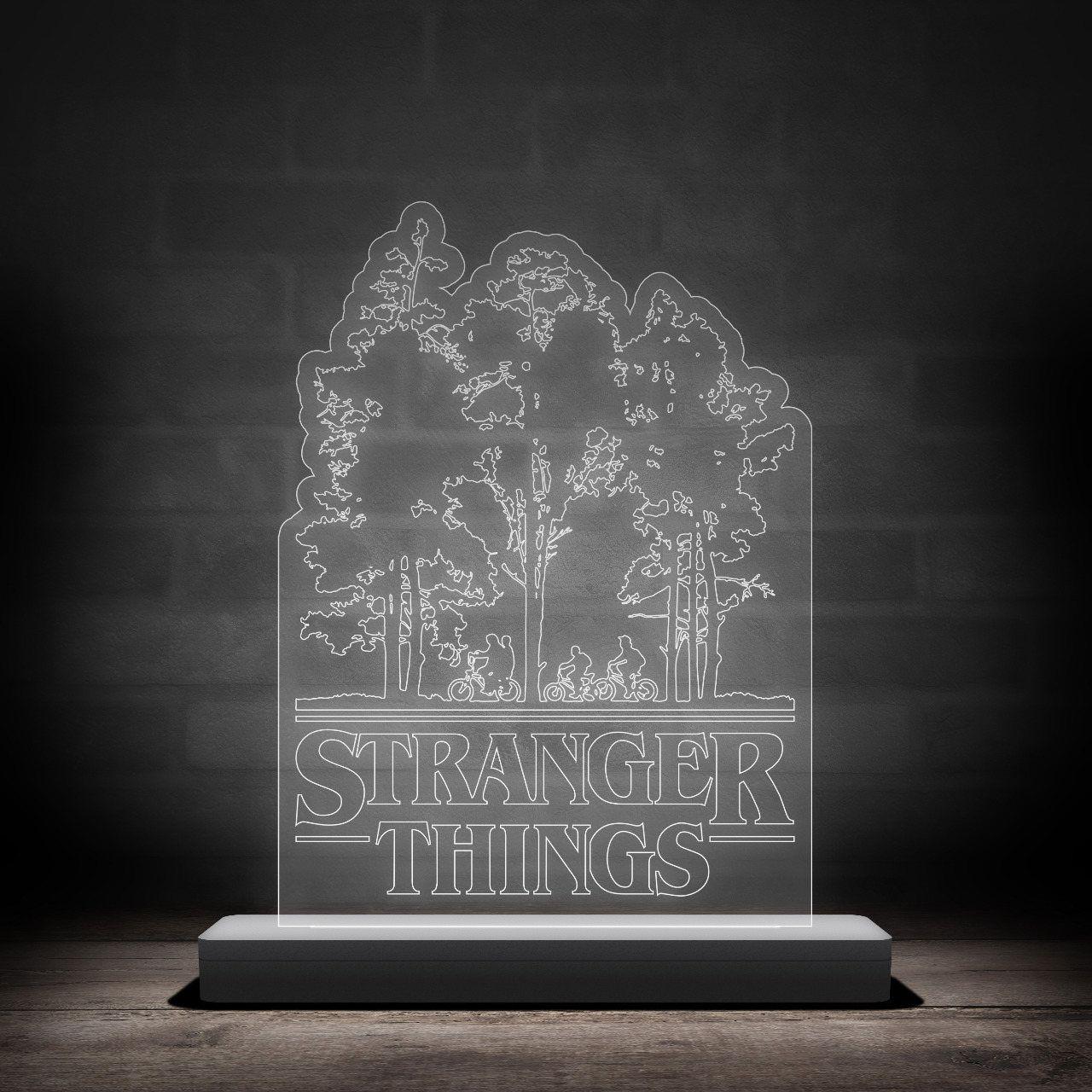 Luminária/Abajur Stranger Things: Árvore - EV