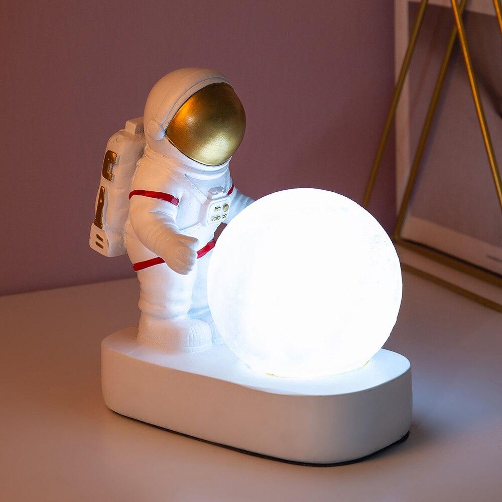 Luminária Astronauta Nasa Luz da Noite