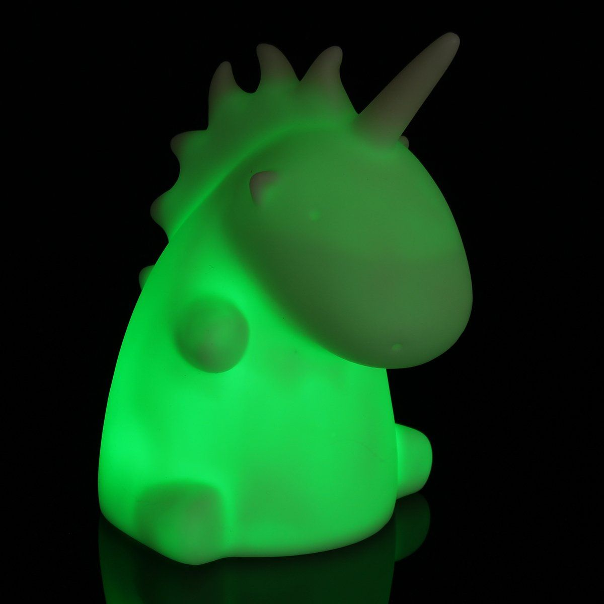 Luminária Baby Unicórnio (Muda de Cor)