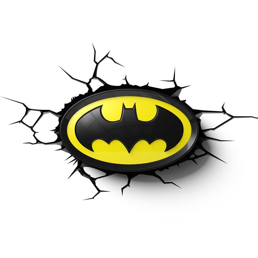 Luminária Logo Batman: DC Comics - 3D ligtht FX