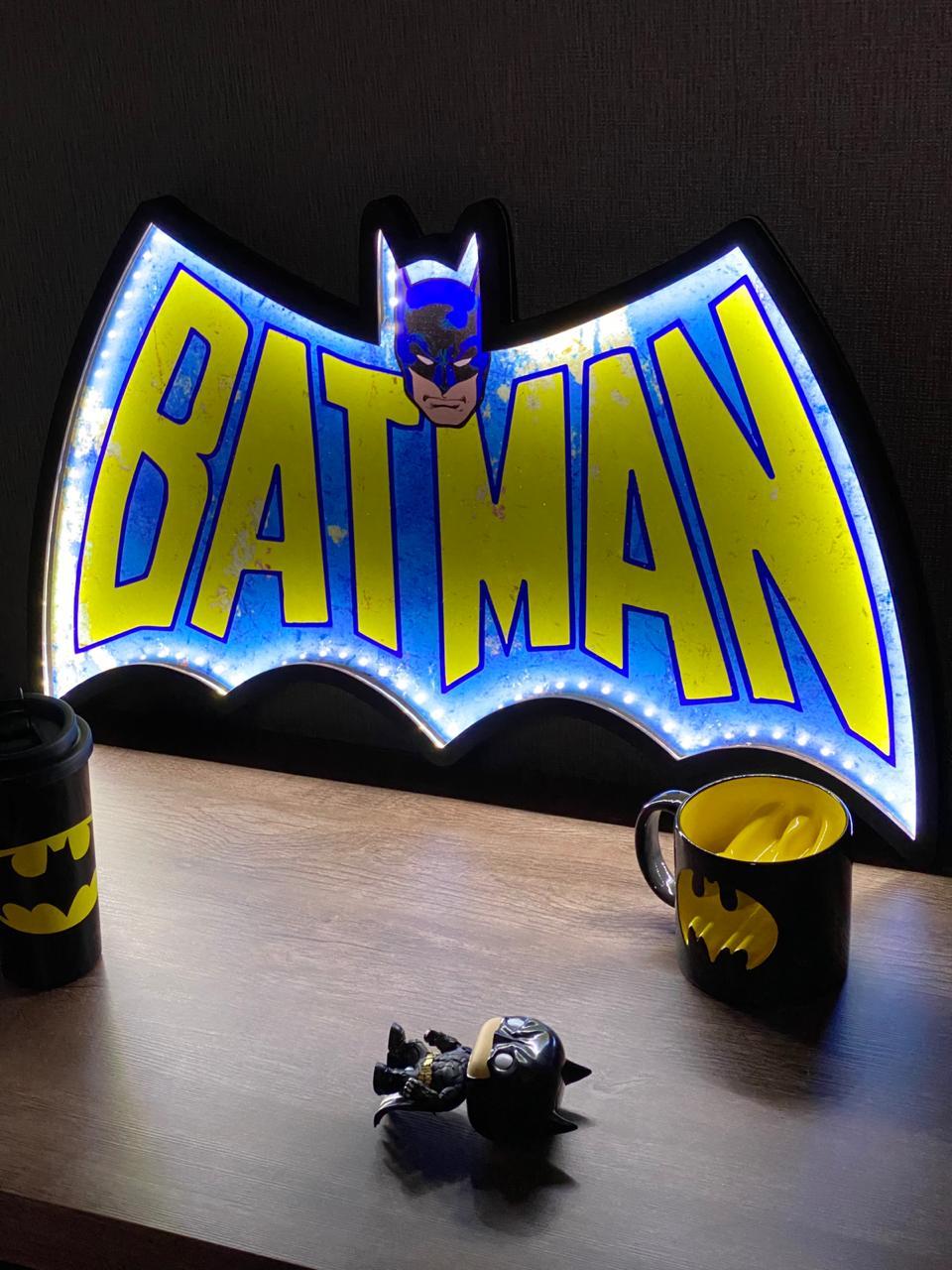 Luminaria: Batman ( Logo Serie Animada )