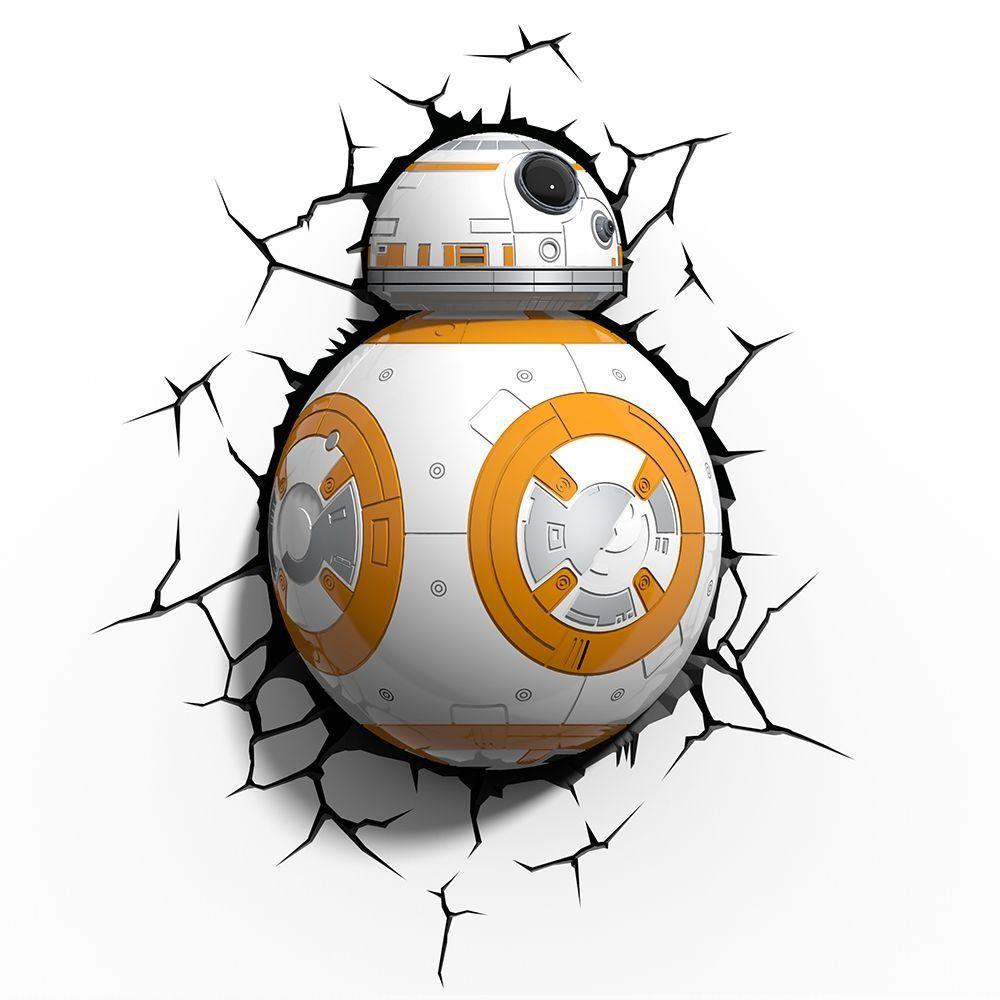 Luminária 3D BB-8: Star Wars (Light FX)