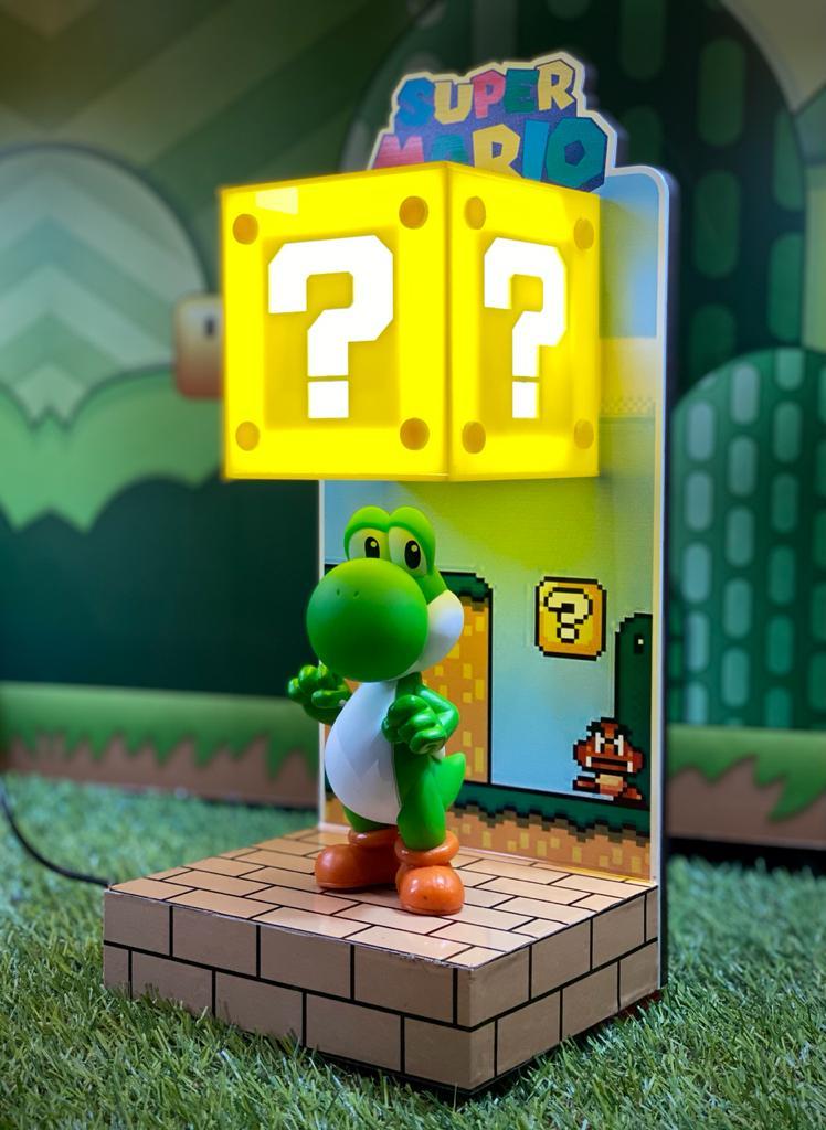 Luminária Cenário Mario Bros: Yoshi - EV