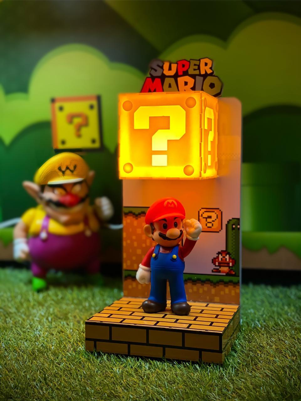 Luminária Cenário Mario: Mario Bros. - EV