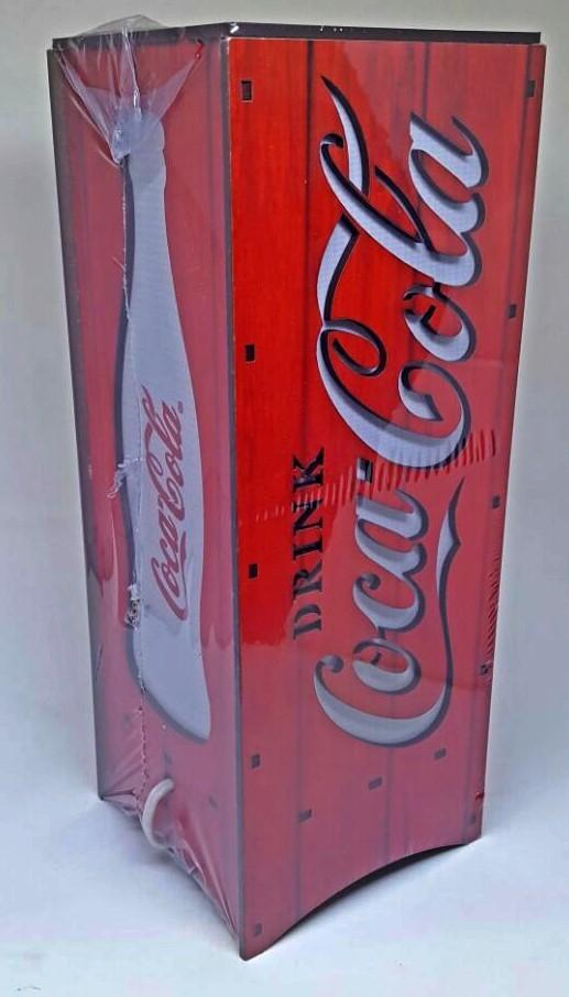 Luminária Coca-Cola Vermelha sem base em MDF
