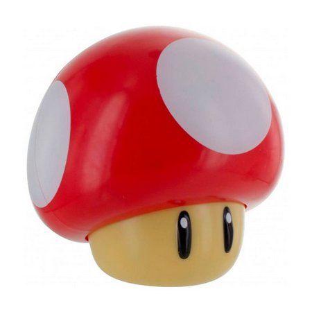 Luminária Cogumelo (Mushroom): Super Mario Bros