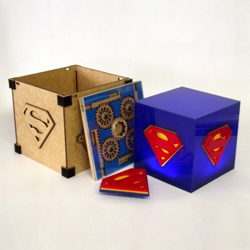 Luminária Cubo Superman - FP Design