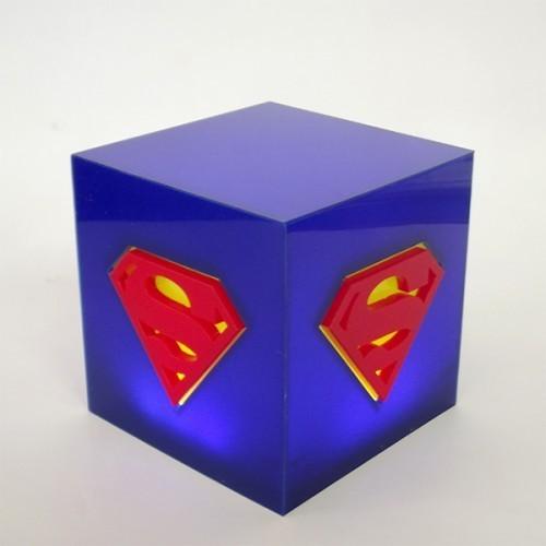 Luminária Cubo Superman - FP Design