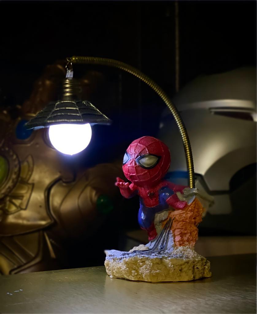 Luminária Cute Homem Aranha Spider-man: Marvel