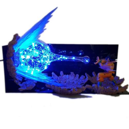 Luminária de Led Goku (Kamehameha): Dragon Ball Z