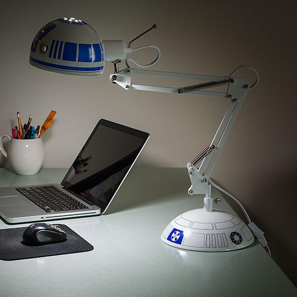Luminária de Mesa R2-D2: Star Wars