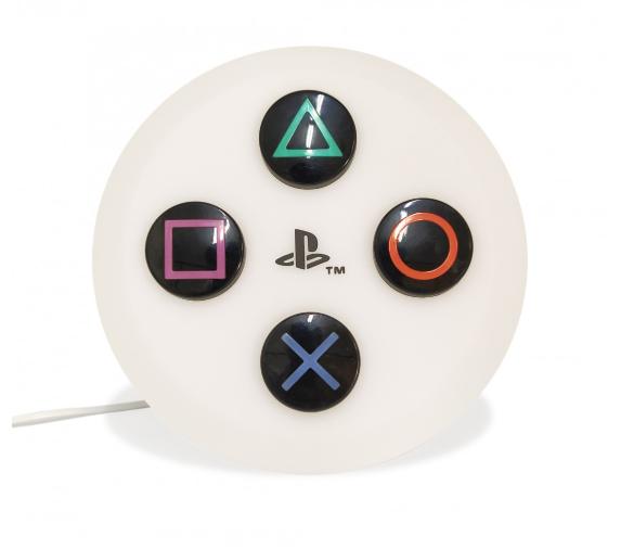 Luminária De Teto Botões: Playstation (Branco)