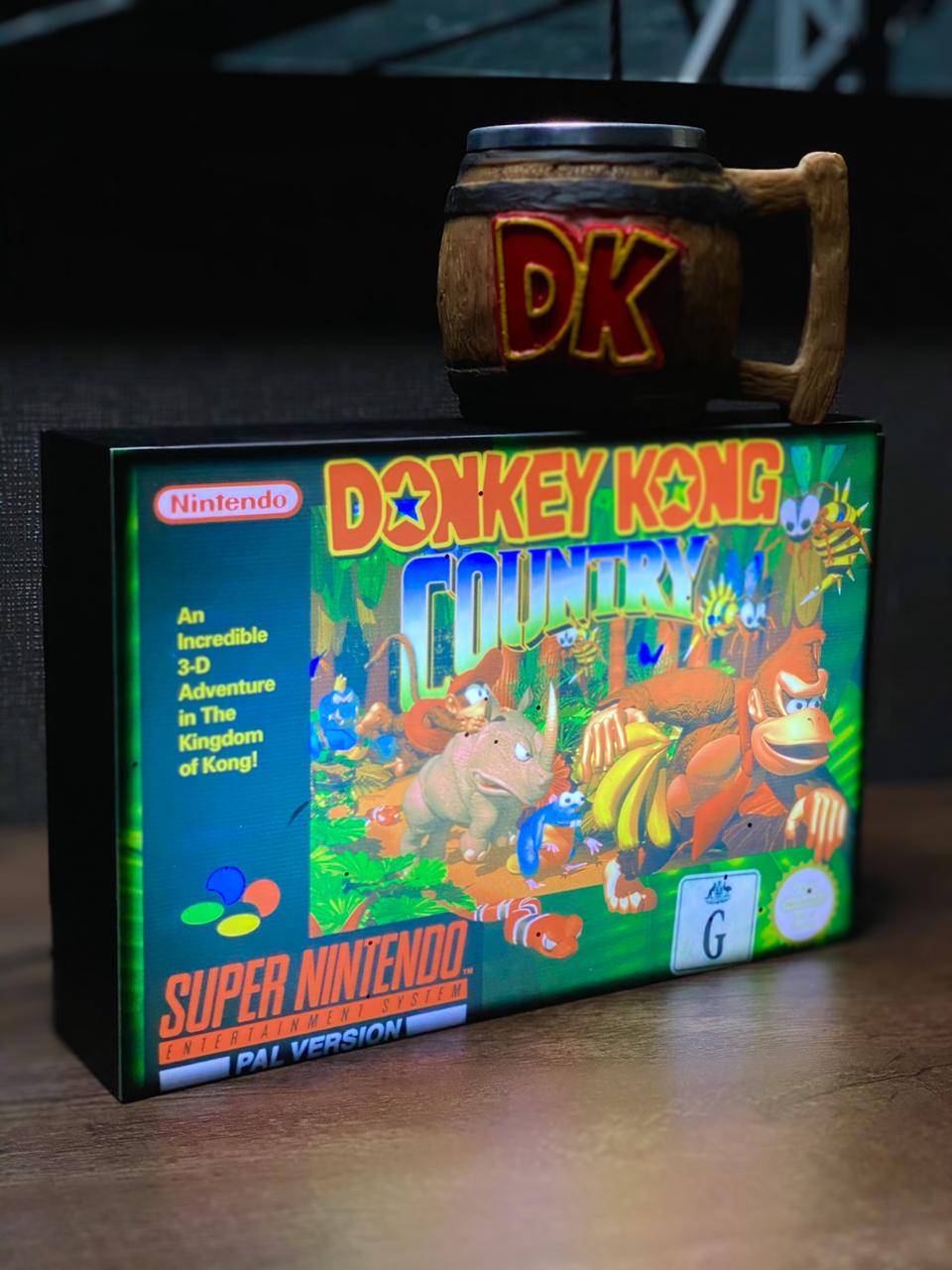 Luminaria: Donkey Kong Country ( Super Nintendo )