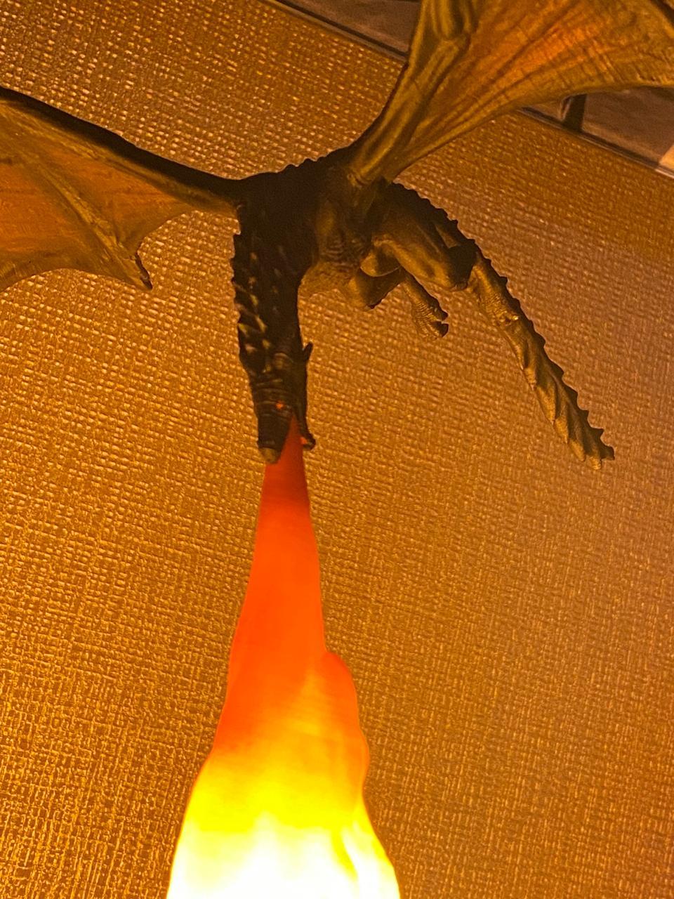Luminária Dragão Drogon: Game Of Thrones - Fanatic Studios  - EV